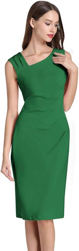 Damska sukienka dla pań, elegancka letnia sukienka letnia, letnia sukienka na ołÓwki, dla pań: Odzież