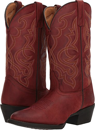 Laredo Western Boots Womens Round Cowboy 8.5 M Burnished Brick 51118 (Red Boot Cowboy)