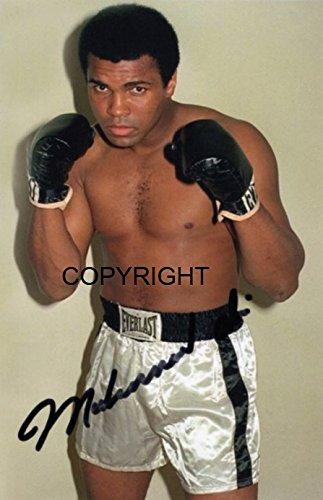 Limited Edition Muhammad Ali unterzeichnet Foto Autogramm signiertsigniertes THEPRINTSHOP