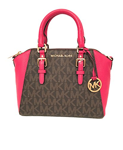 Michael Kors Women's Ciara Medium Messenger Bag Brown - Brown Michael Handbag Kors