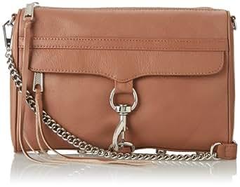 Rebecca Minkoff MAC Convertible Cross-Body Handbag,Taupe,One Size