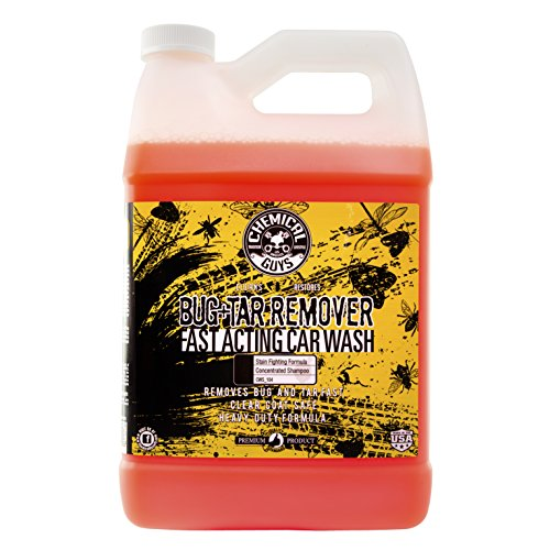 - Chemical Guys CWS_104_64 Bug & Tar Heavy Duty Car Wash Shampoo (1 Gal)
