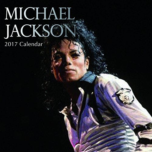 "The King of Pop Michael Jackson Music Icon 2017 Monthly Wall Calendar, 12"" x 12"""