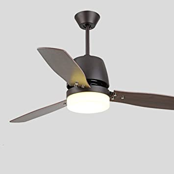 Tropicalfan Modern Ceiling Fan One Light Acrylic Lampshade With Remote Home Indoor Living Room Dinner