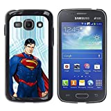 LASTONE PHONE CASE / Slim Protector Hard Shell Cover Case for Samsung Galaxy Ace 3 GT-S7270 GT-S7275 GT-S7272 / Man Blue Red Kids Children'S