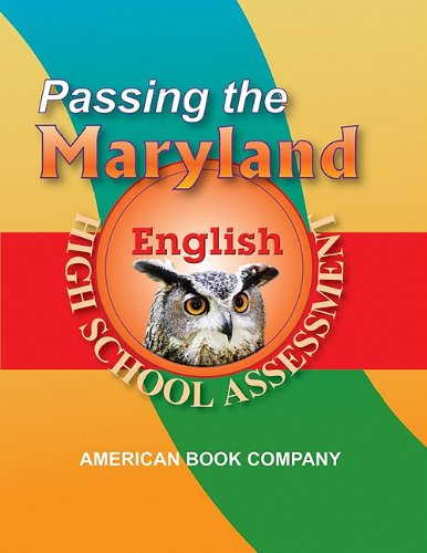 Download Passing the Maryland High School Assessment in English: Developed to the Current Core Learning Goals pdf
