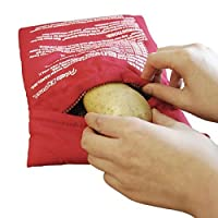 Saco Para Assar Batatas Microondas - Potato Express Bag