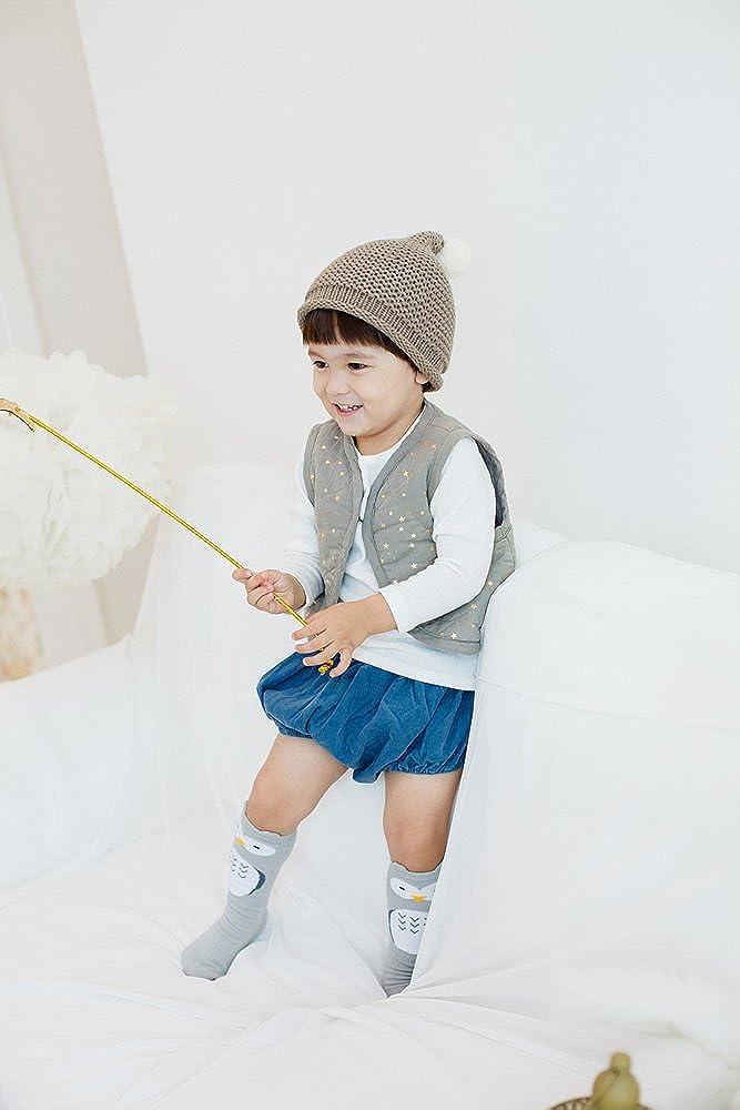 Eva/&Elvin by Vaenait Baby 2 Pairs Kids Girls Anti-Skid Knee Socks My Zoo