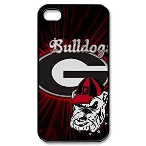 iphone 4 4S 4G Case - Form Fitting Hard Plastic Back Case for iphone 4 4S 4G - NCAA Team Logo Georgia Bulldogs (15.33) - 14