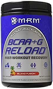 MRM BCAA +G Reload Post-Workout Recovery, Island Fusion, 330 Gram