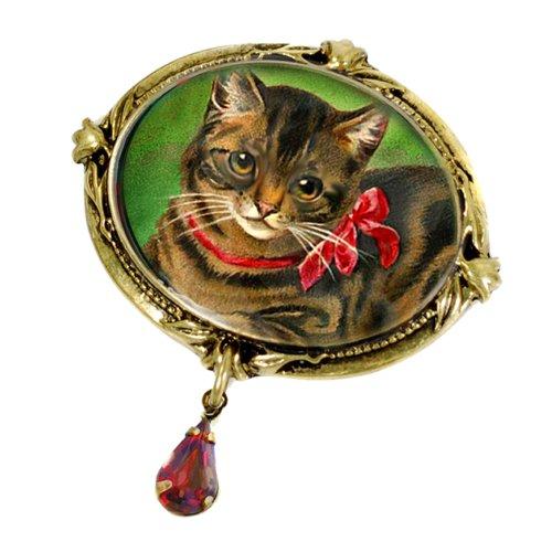 Kitty Cat Brooch - 6