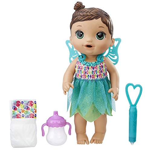 : Baby Alive Face Paint Fairy (Brunette)