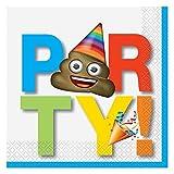 Celebration Emoji Party Napkins, 16ct