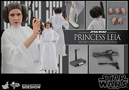 Star Wars Princess Leia Hot (Hot Toys Star Wars: Episode IV A New Hope Princess Leia Carrie Fisher 1/6 Scale Figure)