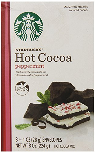 (Starbucks Hot Cocoa Mix, Peppermint, 8 Ounce)