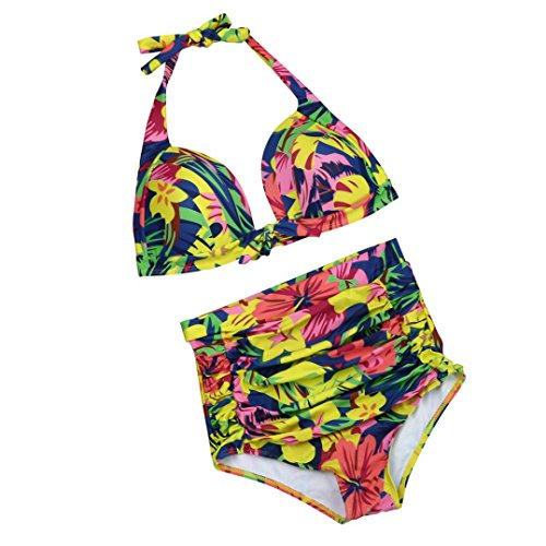 LHWY Women Bikini Set Push Up Padded Swimwear Bathing Swimsuit Beachwear