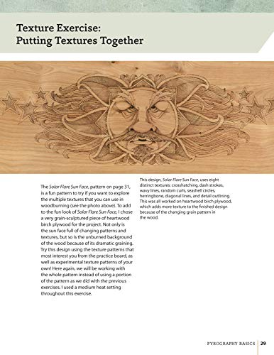pyrography basics techniques and exercises for beginners fox chapel publishing skill building. Black Bedroom Furniture Sets. Home Design Ideas