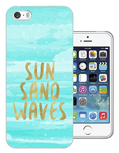 002810 - Sand Sea Waves Holiday Beach Design iphone 4 4S Fashion Trend CASE Gel Rubber Silicone All Edges Protection Case Cover
