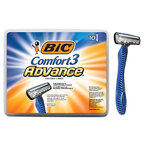 BIC Comfort 3 Advance Men's 3-Blade Disposable Razor