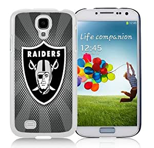 High Quality Samsung Galaxy S4 I9500 Case ,Cool And Fantastic Designed Case With Oakland Raiders 06 White Samsung Galaxy S4 I9500 Cover