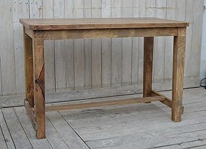 MAXIOCCASIONI Tavolo bancone bar in legno: Amazon.it: Casa e ...