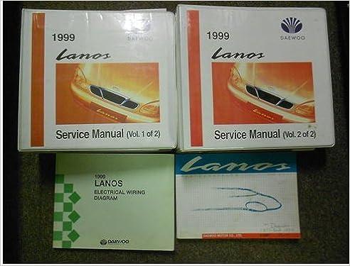 1999 DAEWOO LANOS Service Repair Shop Manual SET FACTORY OEM ... on