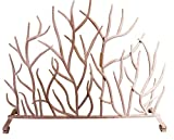 White Branches Iron Firescreen | Open Tree Metal Fireplace Screen Review