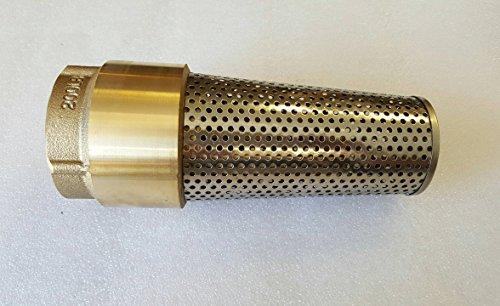 Merrill MFG FVNL200 No Lead Brass Foot Valve, 710 Series, 2