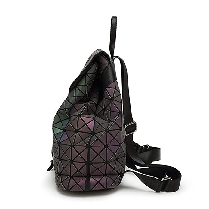 Leatury Luminous Backpack Diamond Lattice Bag Travel Geometric Women  Fashion Bag Teenage Girl School Noctilucent Backpack  Amazon.co.uk  Shoes    Bags 967a63a299aee