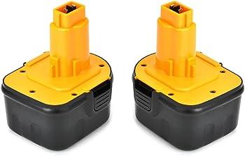 2-Pk. Masione 12V DeWalt Drill Battery
