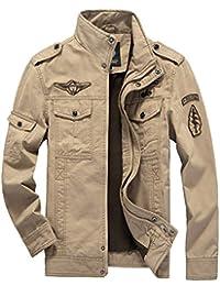 VSVO Men's Fashion Cotton Jackets