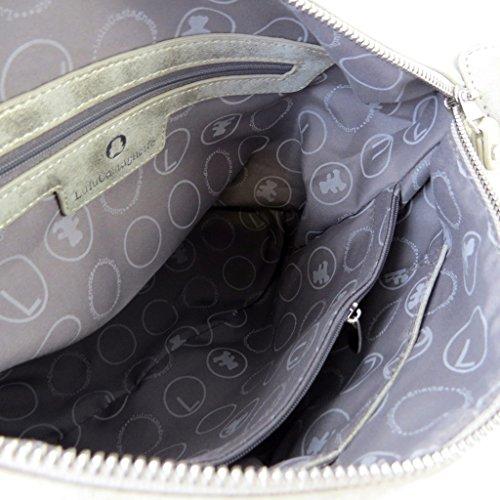 N5723 35 Lulu 5x13 vintage créateur Castagnette Sac cm 5x22 doré 5 UxgTq