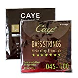 Orphee Caye-BW Series BW730 Bass Strings Set .045-.100 Nickel Alloy from Italy Music Wire 4pcs/set