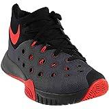 Nike Zoom Hyperquickness 2015 - Dark Grey / Black-Bright Crimson, 9.5 D US