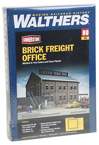Walthers Cornerstone Series Kit HO Scale Freight Office Kit ()