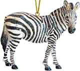 December Diamonds Rhinestoned Zebra Ornament from The Zoology Collection- Discontinued Limited Edition will Absolutely Increase in Value!!!