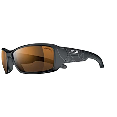 3e51f5e2219198 Julbo - Lunette de soleil Run Rectangulaire , Grey  Amazon.fr ...