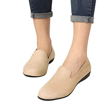 1be3532ec73 Christmas Clearance Sale!OverDose Women s Loafers Flats Ladies Comfy ...