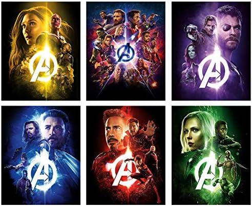 Marvel Avengers Movie Poster decor product image