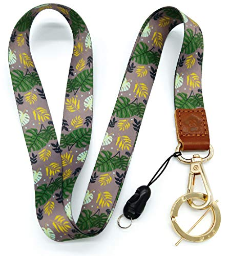 H.M Neck Lanyard Golden Series with ID Holder/Key Chain Holder/Mobile Phone/Wallet - Key Monkey Holder