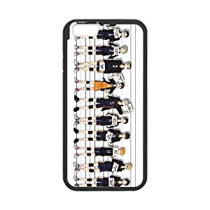 Haikyuu !! 15 funda de plástico iPhone 6 Plus 5.5 pulgadas del teléfono celular de funda funda caja del teléfono celular negro cubren ALILIZHIA06514