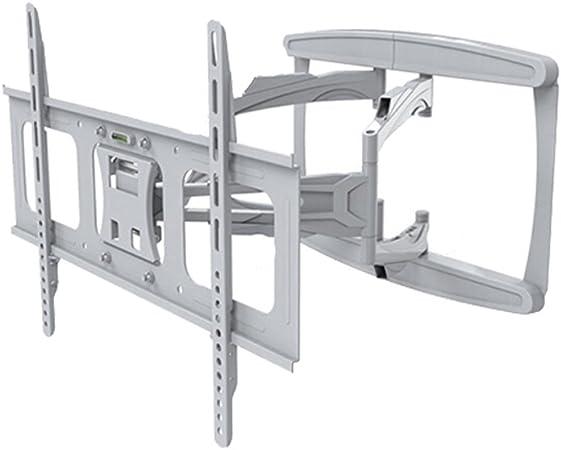 Liutao Rack para TV 32 - 65 Pulgada Soporte de Montaje en Pared para TV Telescópico Plegable Rotación Capacidad 45KG (Color : White, tamaño : 60 * 40cm): Amazon.es: Hogar