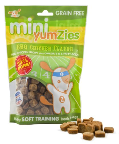 Nootie Mini Yumzies Natural BBQ Chicken Flavor Dog Treats Review