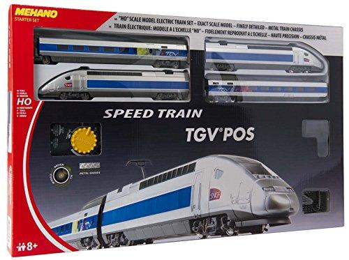 MEHANO TRAIN LINE - HO Scale Train Set - SPEEDTRAIN,TGV POS