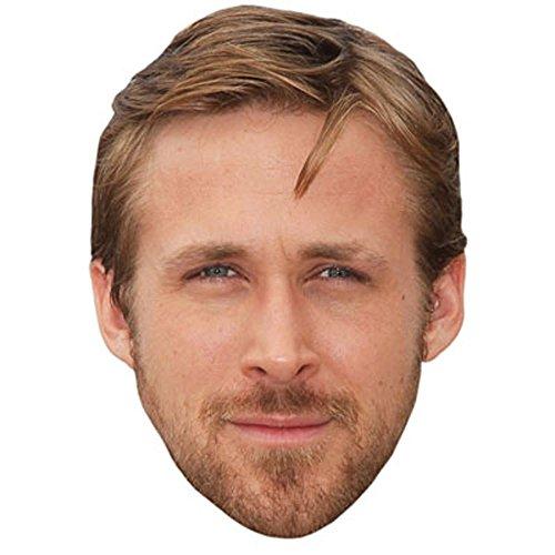 Ryan Gosling Celebrity Mask, Card Face and Fancy Dress Mask