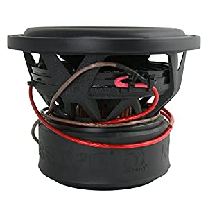 Massive Audio SUMMO84-8 Inch Car Audio 600 Watt SUMMO Series Competition Subwoofer, Dual 4 Ohm, 2 Inch Voice Coil. Sold Individually.