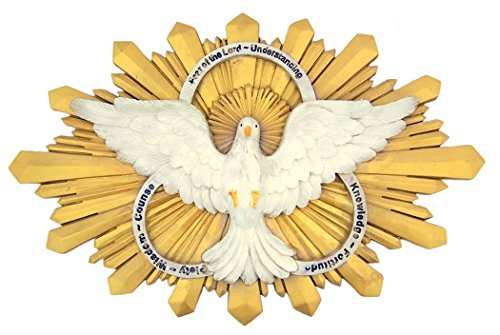 Gifts of the Holy Spirit Confirmation Wall Plaque, 9 3/4 Inch