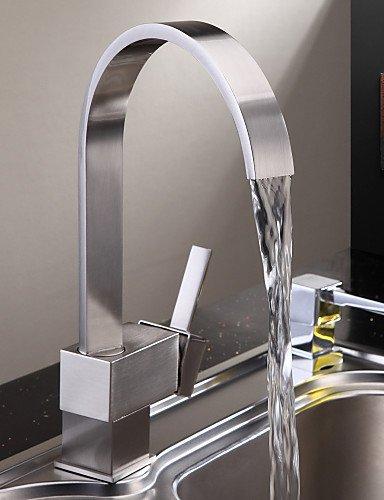 NWMTF zeitgenössische Messing Küchenarmatur – Nickel gebürstet