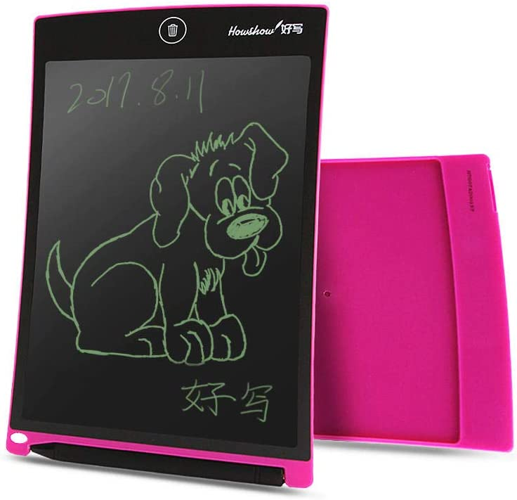 LCD Magnetic Writing Message Pad Rewritable LCD Writing Tablet with Stylus Pen for Office and Children 8.5 Inch-2