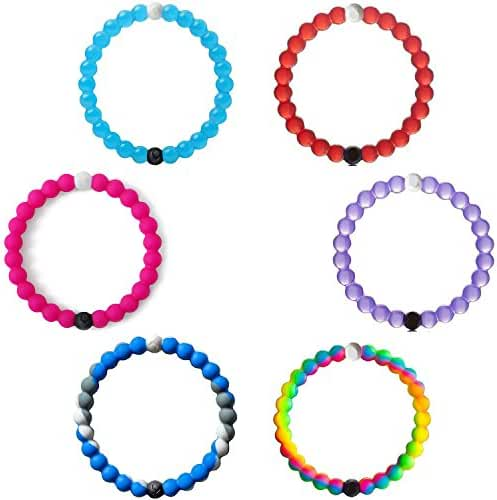 LK Silicone Bead Bracelets As gift